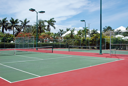 cayman islands condo with tennis photos
